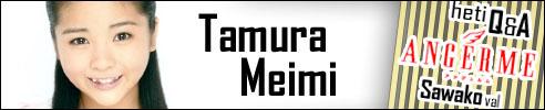 Tamura Meimi - S/mileage Q&A