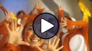 Tokunaga Chinami a Berryz Koubou Yuke yuke monkey dance című MV-jében