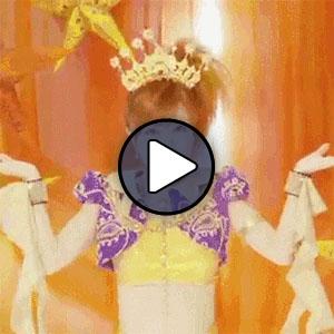 Shimizu Saki a Berryz Koubou Cha Cha Sing című MV-jében