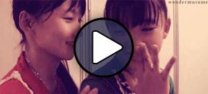 Sayashi Rijo és Suzuki Kanon (Morning Musume)