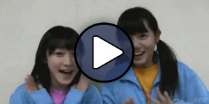 Miyamoto Karin és Tanabe Nanami H!P Kenshuusei tagként