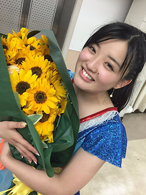 Suzuki Kanon (ex-Morning Musume) búcsúkoncertjén