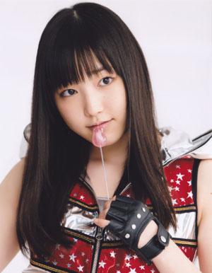 Fukumura Mizuki (Morning Musume) a Renai Hunter PV-ben.