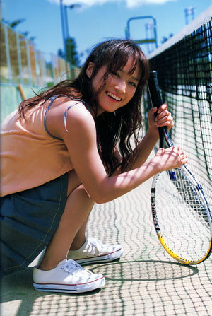 Kamei Eri (ex-Morning Musume) a Hatachi című photobookjában.