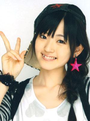 Suzuki Airi (°C-ute/ Buono!) a Gachinko de ikou! PV ruhájában.